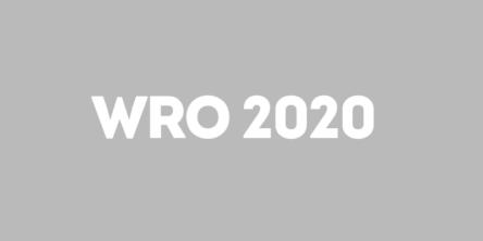 WRO 2020 World robot Olympiad