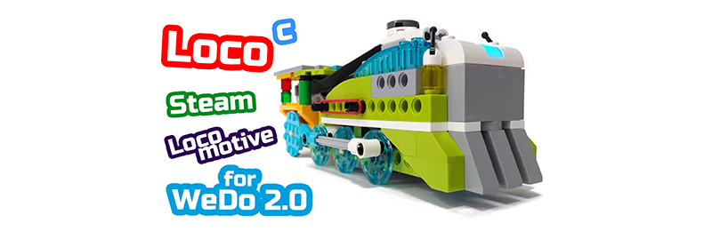 LEGO WeDo 2.0 Паровоз Steam Locomotive 45300