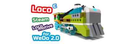 LEGO WeDo 2.0 Паровоз Steam Locomotive 45300