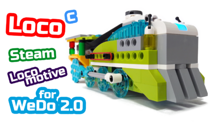 LEGO WeDo 2.0 Паровоз Steam Locomotive